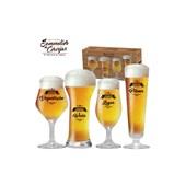 Produto Kit de Taças de Cristal para Cervejas Claras