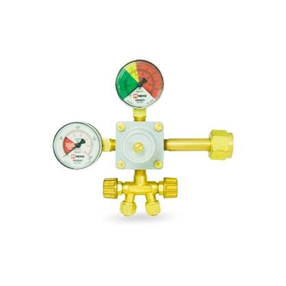 Válvula Redutora de Pressão com Manômetro de 2 Saídas